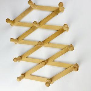《Vintage》boho collapsible wall rack